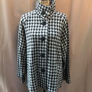Coldwater Creek Houndstooth Jacket